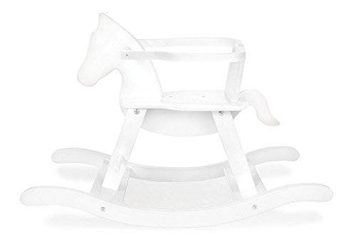 PINOLINO 242456 - Cavallo a Dondolo, Colore: Bianco