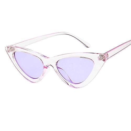 GQUEEN Clout Brille Vintage Cat Eye Sonnenbrille Mod Style UV-Schutz Kurt Cobain Gl/äser,GQS8