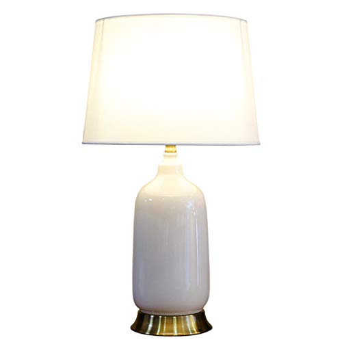 CKH Ice Cracking keramische tafellamp luxe elegantie Villa woonkamer bedlampje lamp doek lampenkap