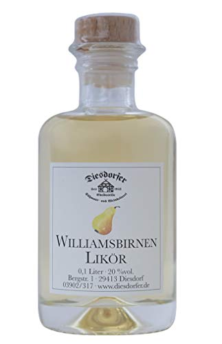Diesdorfer Williams Christ Birnenlikör 20%vol. 100 mL Glasflasche