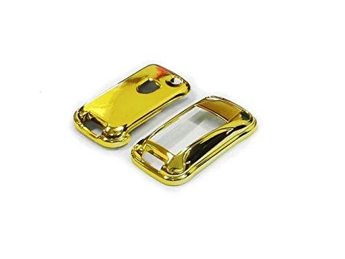 GHXSport GOLD PLATED CHROME Color Flip Key Remote Key Protection Case for Porsche Cayenne Turbo S GTS V6 V8