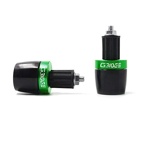 "LIWENCUI- Motorrad 7/8""22mm Lenkergriff Griffenden Gegengewicht Griff Bar End Cap Plug Slider for BMW G310GS alle Jahre (Color : Green)"