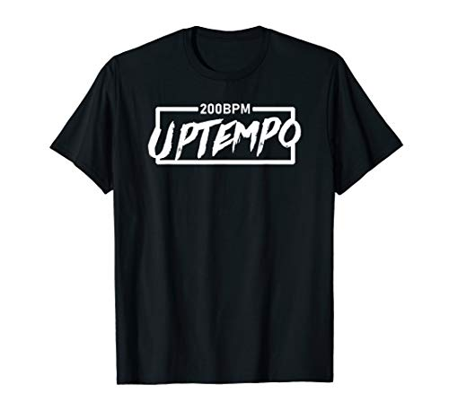 200 BPM Uptempo T-shirt boxed white
