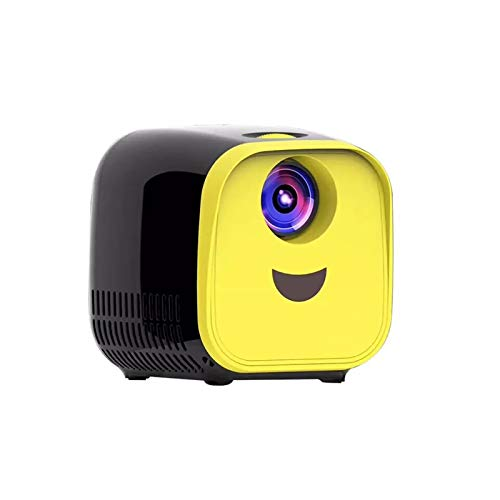 WZPG Kids Mini Projector, Supports 1080P HDMI USB AV Portable Projector,1000 Lumens Micro Video Projector 480X320p, Compatible with TV Stick, Xbox, Laptop,PS4,Black