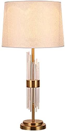 CMMT Lampada da scrivania Lampada da Tavolo in Vetro Moderno Europeo in Vetro Luminoso Moda Soggiorno Camera da Letto Lampada da Comodino 36 * 72 cm