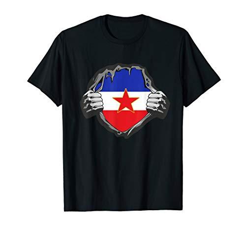 Jugoslawien T Shirt Yugoslavia Jugoslavija SFRJ Geschenk T-Shirt