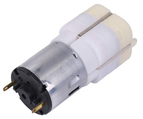 TiproPechka 水槽 用 DC 12V 強力 ミニ エアーポンプ エアチューブコネクター 2種付 釣り 水耕栽培 静音 小型 酸素 供給