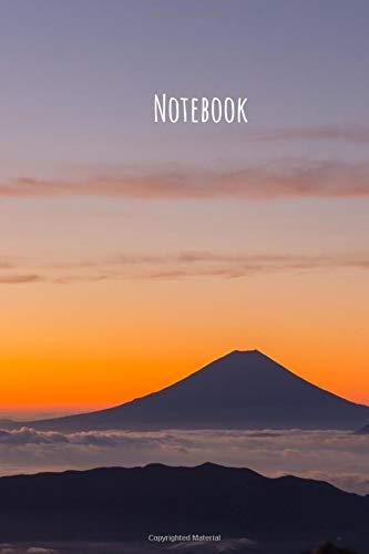 Notebook: Japan Mountain, Fuji