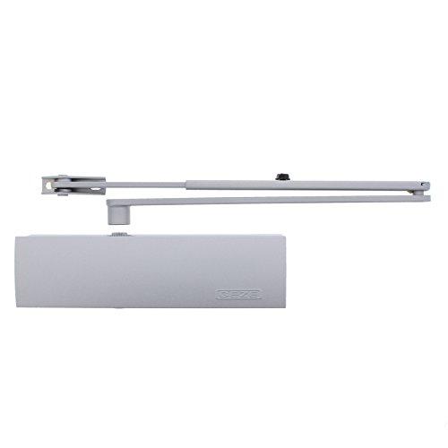 GEZE Türschließer TS 2000 V mit Normalgestänge silber