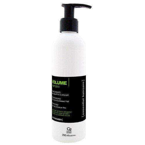 Essential Haircare - Shampoing Volume - Traitement Professionnel Volumisant pour Cheveux Stressés, Fins et Minces, Naturels et Perruques au Karité - 250 ml