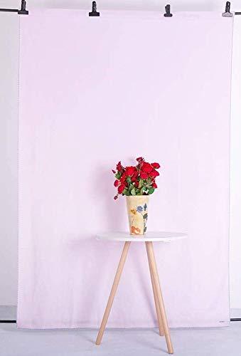 Kate Sfondo fotografico 1,5x2,2m Sfondo rosa chiaro solido per studio fotografico di fotografia di neonati