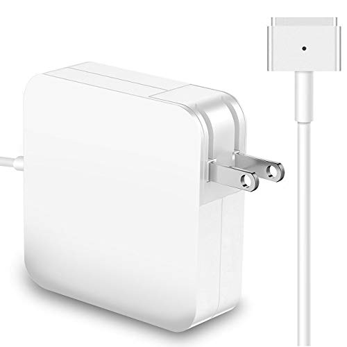 Mac Book Air Charger, 45W Adapter T-Tip Magsafe 2 Power Adapter Compatible for MacBook Air 11 inch and 13 inch (After Mid 2012) Magnetic Power Charger Replacement