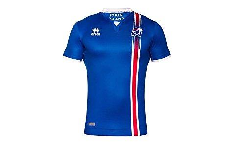 Iceland Kids Euro Home Shirt 2016-17