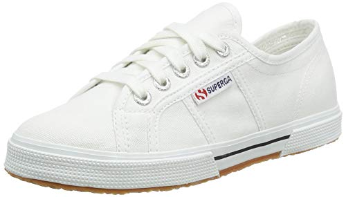 Superga Unisex-Erwachsene Cotu Low-top Sneakers, Weiß (900), 40 EU