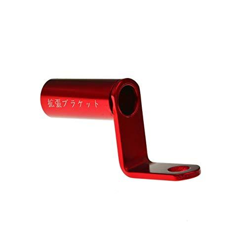 Dailyinshop® Robuster Motorrad-Erweiterungsständer Rückansicht Lenker Spiegelhalterung Adapter Motorrad Licht Erweiterungshalterung Telefonständer