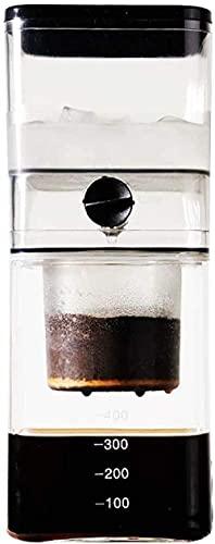 Ice Drip Coffee Pot Olla de goteo para el hogar Extracto de hielo Olla Filtro de goteo Extracción en frío Máquina de café Ice Brewing Pot Extracto de té