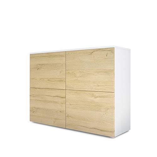 sideboard weiß neckermann