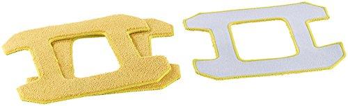 Sichler Haushaltsgeräte Zubehör zu Roboter Fenster: Mikrofaser-Reinigungs- und -Polier-Pad für PR-041 V3, 3er-Set (Fensterputzroboter)
