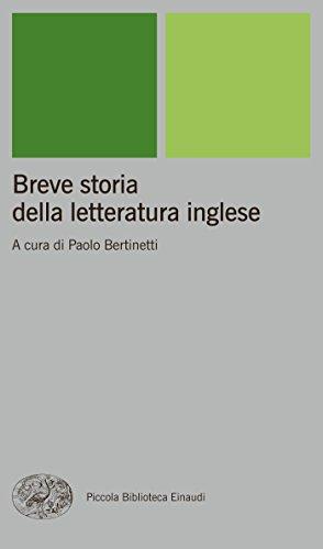 Breve storia della letteratura inglese (Piccola biblioteca Einaudi. Nuova serie Vol. 260)