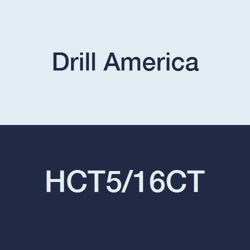 Drill America Max 64% OFF HCT5 16CT Carbide Tipped Reamer 5 16