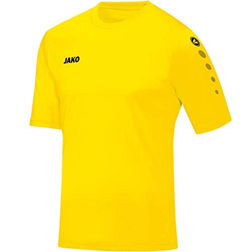 JAKO Herren Fußballtrikots Trikot Team KA, citro, S, 4233