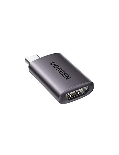 UGREEN USB C zu HDMI Adapter 4K 60Hz USB-C auf HDMI Adapter kompatibel mit Thunderbolt 3 Typ C auf HDMI Adapter unterstützt für MacBook Pro 2020, MacBook Air 2019, iPad Pro 2020, Dell XPS 13 usw.