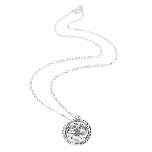 Sylar Collares de Memoria de Collar de proyección de Bola astronómica en 100 Idiomas I Love You con una Exquisita Caja de Regalo para Mujeres Niñas