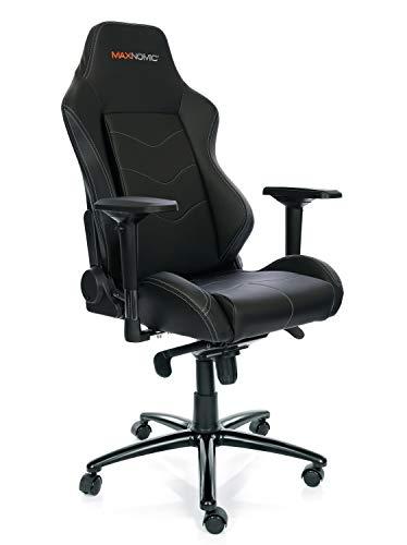 MAXNOMIC Dominator (Black) Premium Gaming Office & Esports Chair black chair gaming