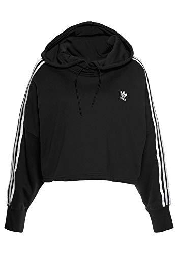 Adidas Cropped - Sudadera con Capucha para Mujer
