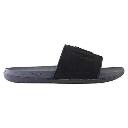 Nike Offcourt Slide, Sneaker Hombre, Anthracite/Negro, 42.5 EU