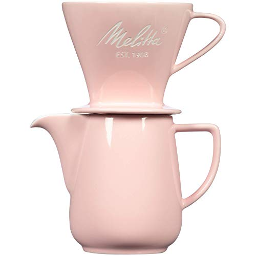Melitta Porcelain Pour-Over Carafe Set with...