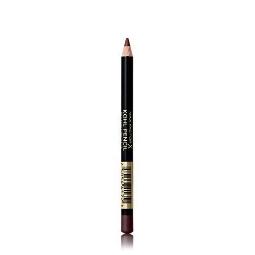 Max Factor Matita Occhi Kohl Pencil, Eyeliner con Texture Morbida Facile da Sfumare, 050 Charcoal Grey