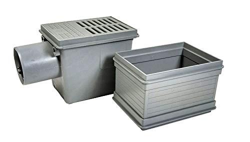 RUG Kellerablauf DN110 mit Aufsatzstück Rückstauverschluß Bodenablauf Rückstauklappe