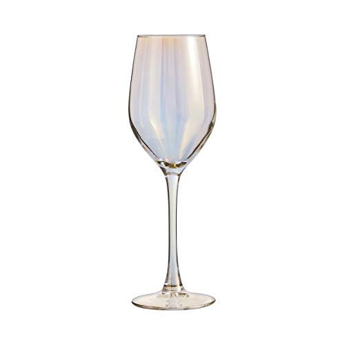 ARC 033287 Shiny - Juego de 4 copas de cristal, color dorado, 35 cl