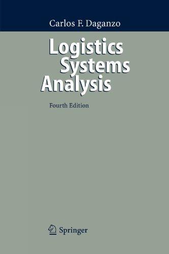 Logistics Systems Analysis by Carlos F. Daganzo (2010-01-14) segunda mano  Se entrega en toda España
