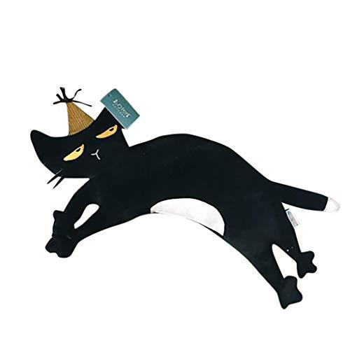 Xmiral Kissen Tierfigur Dekoratives Kissen etwa 50cm Niedlich Spielzeug Pillow Sofakissen(J)