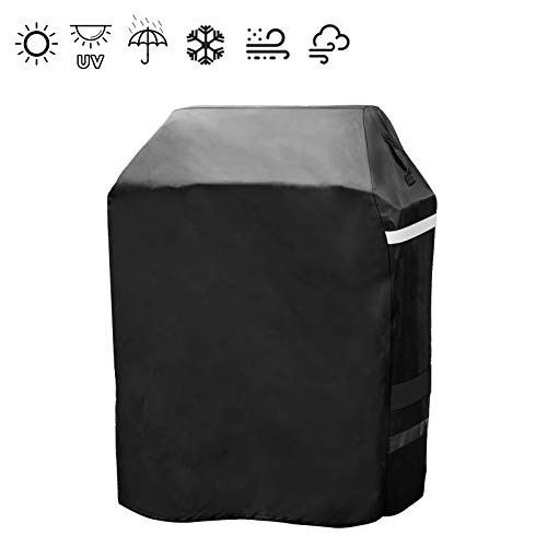 Hisencn 29 Inch Grill Cover for Dyna Glo Premium Small Space LP Gas Grills, Heavy Duty Waterproof BBQ Cover for Dyna Glo DGP350SNP-D, DGB390SNP-D, All Weather Protection