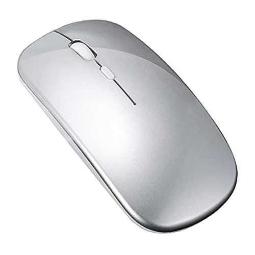 Kabellose Maus, geeignet für Laptops und Mini-PCs, leise und kabellos, schnell und agil, 2,4 G USB Mini-Maus, geeignet für Windows 10/8/7