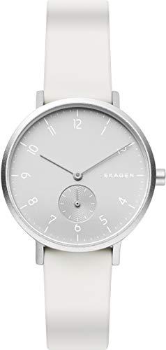 [スカーゲン]SKAGEN 腕時計 AAREN ホワイト SKW2763 レディース 【正規輸入品】