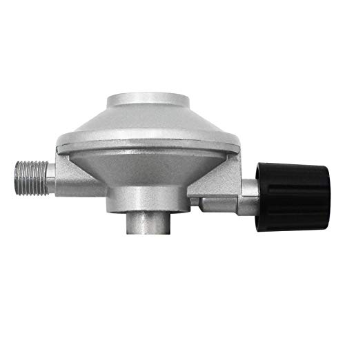 MING-BIN Parte del regulador de propano G 1/4'Regulador de Camping Ajustable de Hilo Izquierdo para Botella pequeña butano