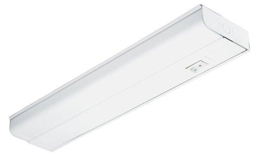 Lithonia Lighting UC8 15 120 SWR M6 Standard 18-Inch T8 Fluorescent Cabinet Light, White