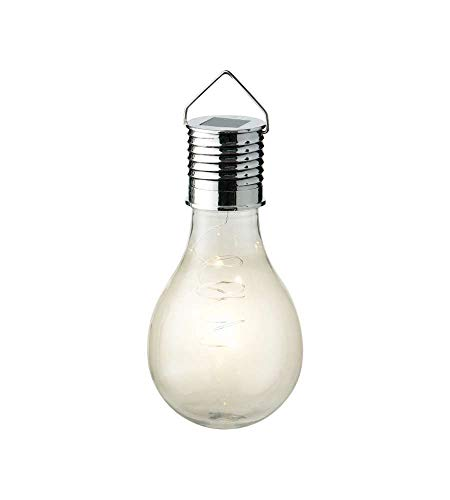 Lumineo 73202 Ampoule transparente LED, solaire extérieur