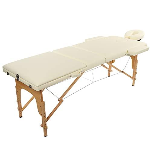 Zerone Lit de Spa, adapté à Table de Massage à Courbe du Corps Humain pour Accessoire de Spa