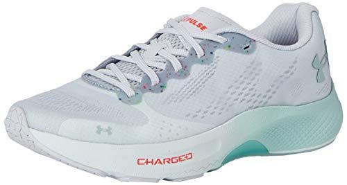 Under Armour Charged Pulse, Zapatillas para Correr de Carretera para Mujer, Halo Gray Sea Glass Azul Esmalte