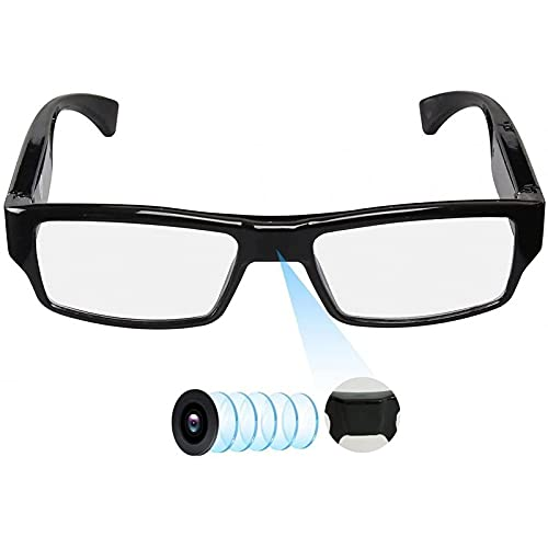 Slkon | Gafas de cámara espía invisibles Full HD 90 minutos con micrófono integrado