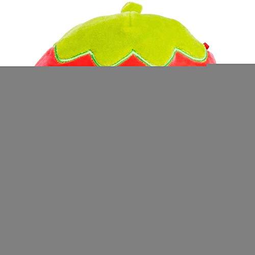 ZHURGN Juguetes de Peluche Suave, Linda muñeca de Fresa de Peluche, Placa de Fresa durmiendo Abrazando Almohada para niños, decoración de Coches para el hogar Cumpleaños para Chicas, niños, Amigos