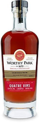 Worthy Park Special Cask Release QUATRE VINS Jamaica Rum 2013 52% - 700 ml