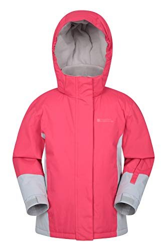 Mountain Warehouse Honey Kids Ski Jacket - Winter Snow Coat for Snowboarding Fuchsia 7-8 Years