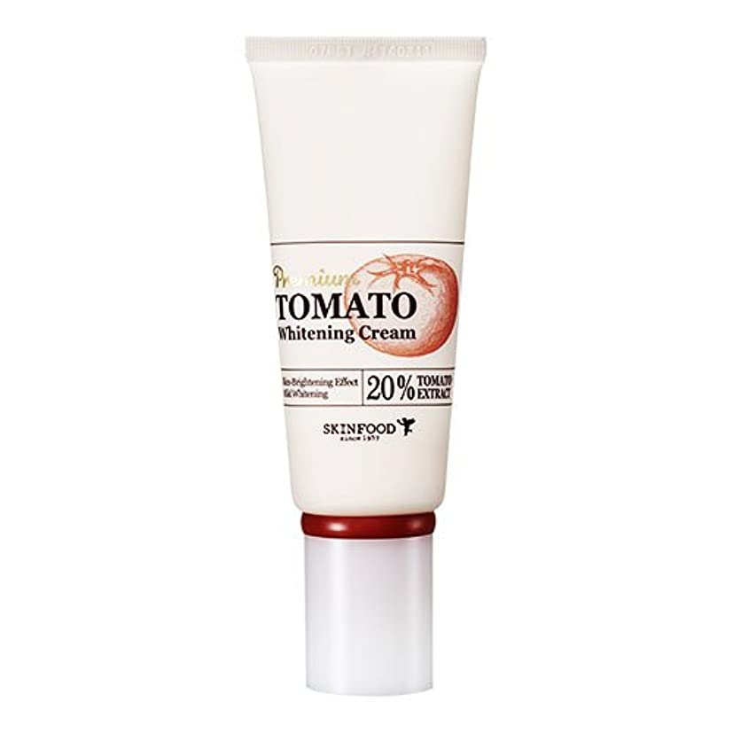 バスト害虫結核Skinfood プレミアムトマトホワイトニングクリーム(美白効果) / Premium Tomato Whitening Cream (Skin-Brightening Effect) 50g [並行輸入品]