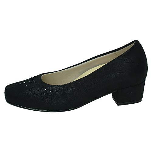 DOCTOR CUTILLAS 81174 Zapatos Brillantes Mujer Zapatos TACÓN Negro 38